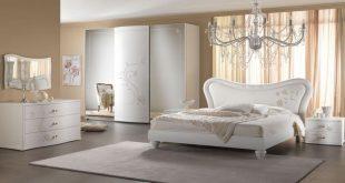صورة وربي ما في أحلى من الأبيض , غرف نوم بيضاء كلاسيك