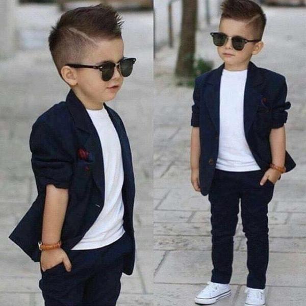 صورة ملابس اطفال ولادي للعيد 223 1