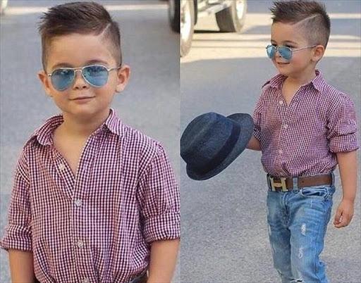 صورة ملابس اطفال ولادي للعيد 223 3