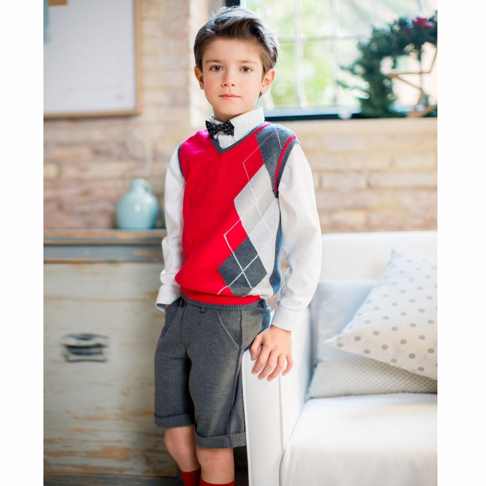 صورة ملابس اطفال ولادي للعيد 223 7