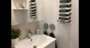 حمام صغير لكنه تحفه ،ديكور الحمام الصغير