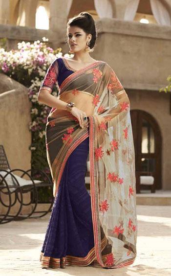 صورة ساري هندي 2019،اجمل الملابس التقليديه بالهند 6227 1
