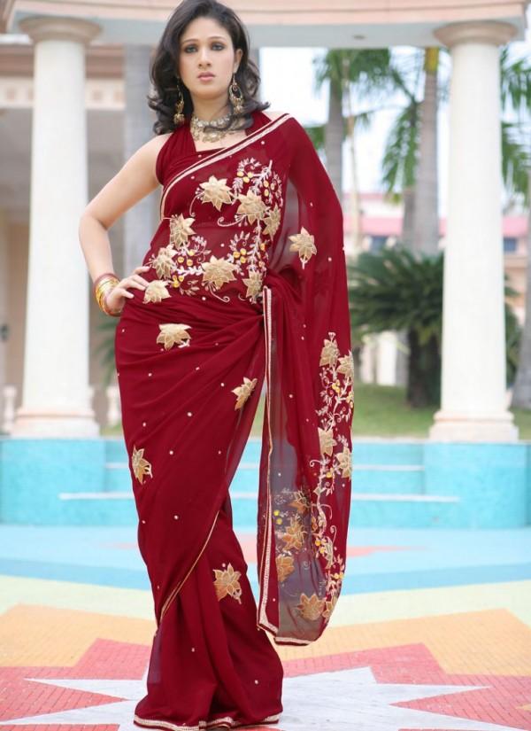 صورة ساري هندي 2019،اجمل الملابس التقليديه بالهند 6227 4