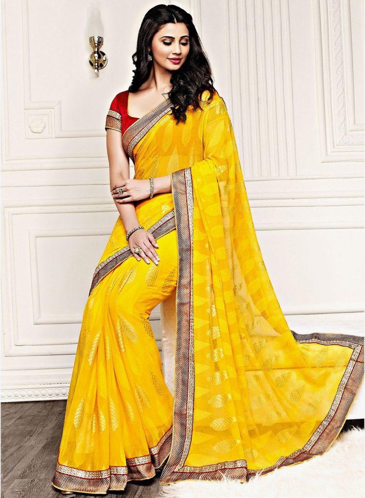 صورة ساري هندي 2019،اجمل الملابس التقليديه بالهند 6227 6