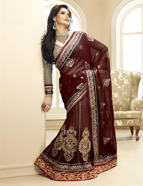 صورة ساري هندي 2019،اجمل الملابس التقليديه بالهند 6227 8